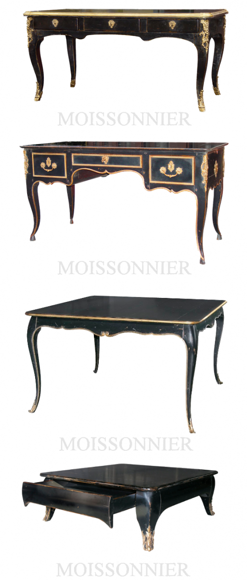 Black Painted French Furniture1 500x1172 Black Painted French Furniture
