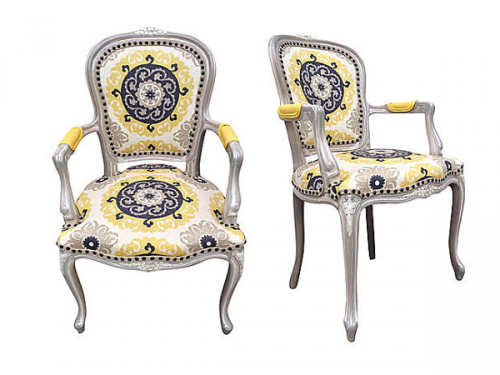 Eclectic French Chairs 500x375 Designer Hutton Wilkinsons 4 Tips For A Unforgettable Home