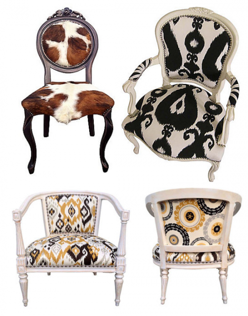Eclectic French Chairs2 500x636 Designer Hutton Wilkinsons 4 Tips For A Unforgettable Home