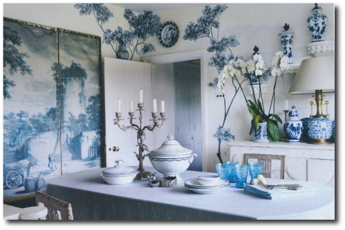 London based designers Paolo Moschino and Philip Vergeylen 500x334 A Little Bit Of Provence In Your Home