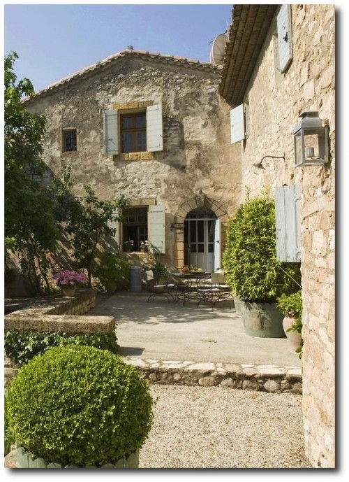 Provence stonework inspiration for the DREAM RUSTIC Villa interiors by Shaw 500x689 A Little Bit Of Provence In Your Home