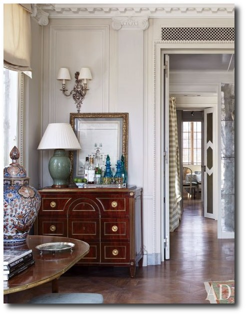 Michael Smiths Home Architectural Digest4 Michael Smiths Fabulous French Upper East Side Apartment