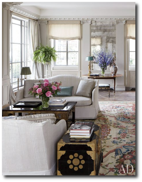 Michael Smiths Home Architectural Digest6 Michael Smiths Fabulous French Upper East Side Apartment