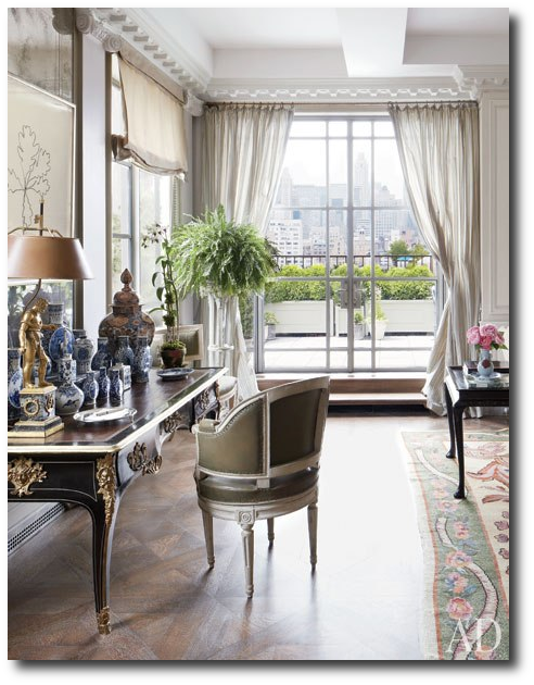 Michael smiths Apartment New York Michael Smiths Fabulous French Upper East Side Apartment