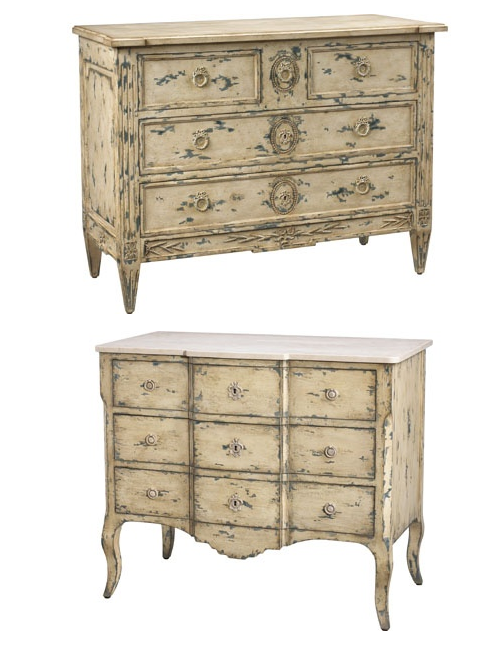 French Heritage Chests2 Sandrine Commode, Seizieme Chest by French Heritage French Painted Furniture, French Interiors, French Antiques, French Reproductions, French chest