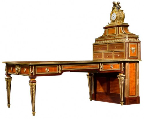 French Style Partners Desks 500x414 French Style Partners Desks