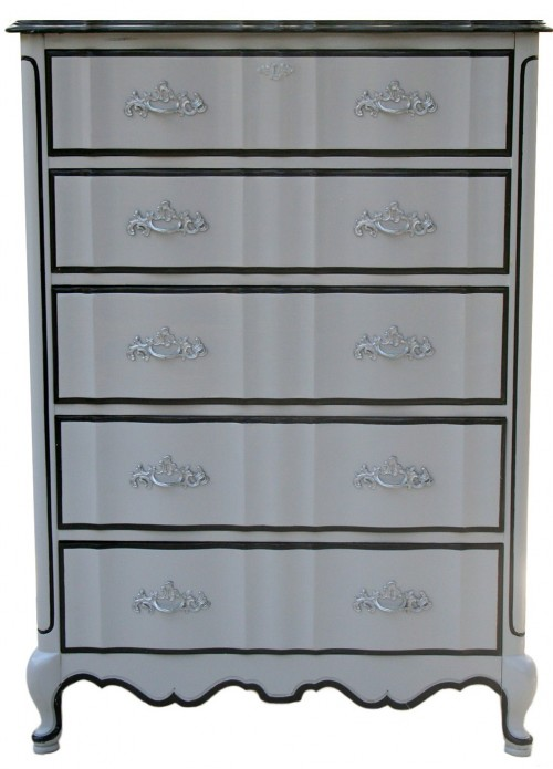 Custom French Painted Provincial Chest1 500x695 Add Dimension To Your French Furniture