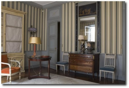 Voltaire Bedroom 500x341 Borrow The Best Ideas For Your Home From French Decorator Jean Louis Deniot