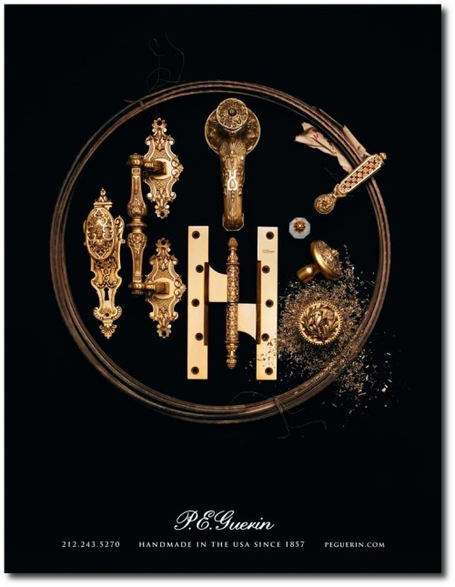 P E Guerin AD 500x645 Worlds Most Beautiful French Hardware