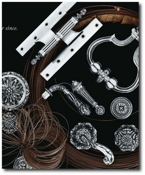 P E Guerin on June 2011 as seen in Elle Decor June 2011 issue 500x601 Worlds Most Beautiful French Hardware