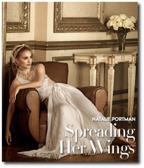 French Swedish Furniture Decorating Natalie Portman Vogue Jan 2011 3 500x581 French & Swedish Furniture Decorating   Natalie Portman Vogue Jan 2011 3