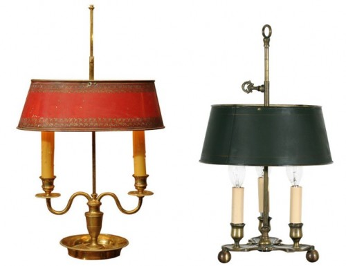 Bouillotte Lamps1 500x385 Easy Country Provence Decorating  7 Ways To Get The Look