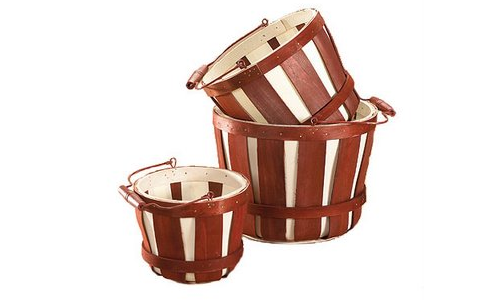 Bushel Baskets Easy Country Provence Decorating  7 Ways To Get The Look