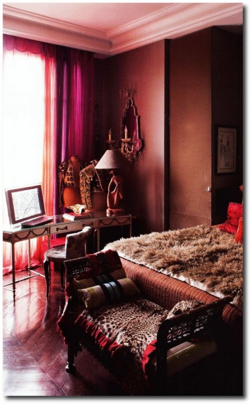 cote paris by Jean Marc Palisse 500x803 Decorating With Dark Brown  French Styling