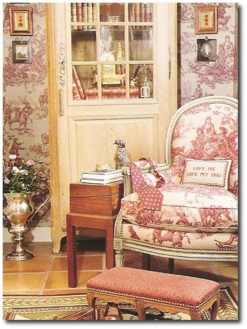 scan0022Traditional Home 500x666 Easy Country Provence Decorating  7 Ways To Get The Look
